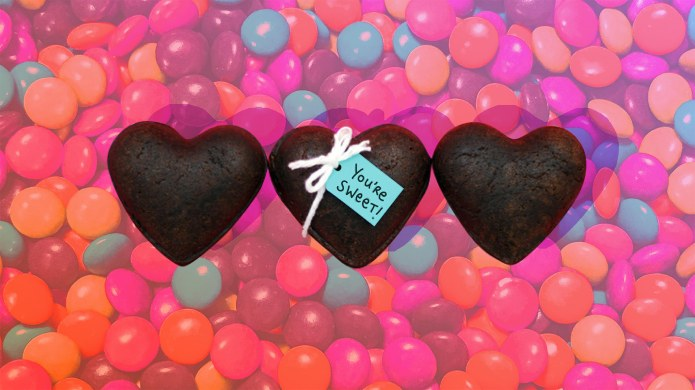 Heart-Shaped Brownie Treasure Boxes Will Totally