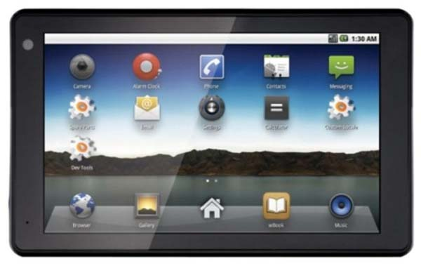 Sylvania Android Tablet computer released