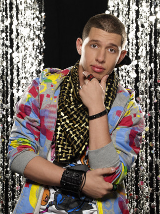 Phillip strikes a pose on SYTYCD top 20