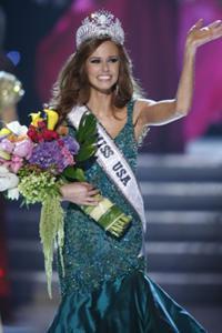 The winner of Miss USA 2011