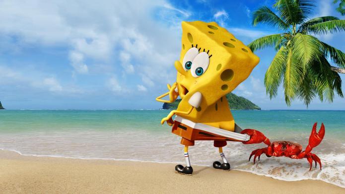 SpongeBob SquarePants on steroids is headed