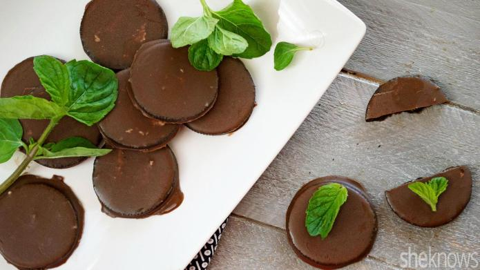 No-bake 'Thin Mint' cookie recipe only