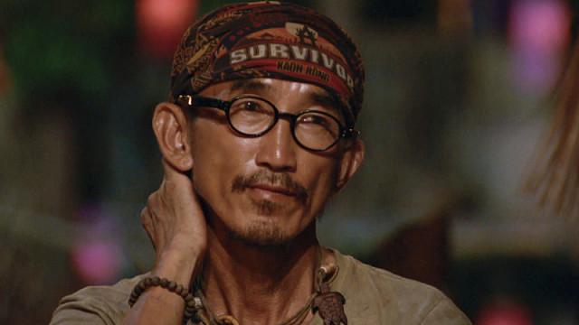 Tai Trang at Tribal Council on Survivor: Kaoh Rong
