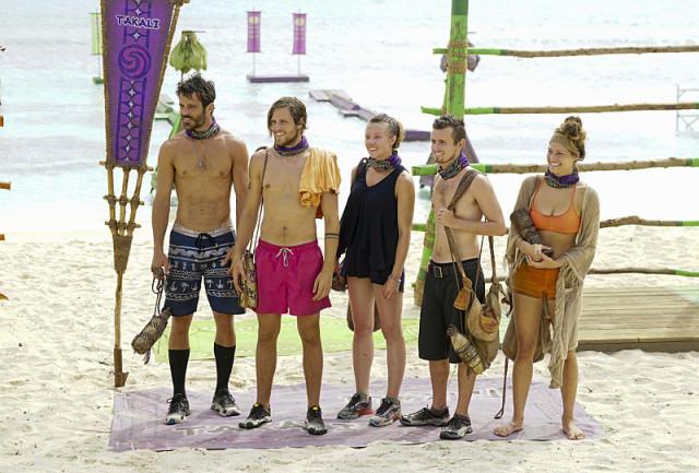 Vanua tribe after losing Immunity challenge on Survivor: Millennials Vs. Gen-X