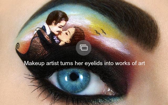 Tal Peleg's Eyelid Art
