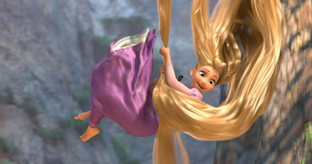 Mandy Moore is Rapunzel in Tangled