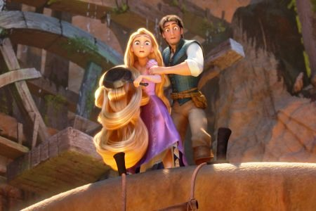 Tangled stars Mandy Moore and Zach Levi
