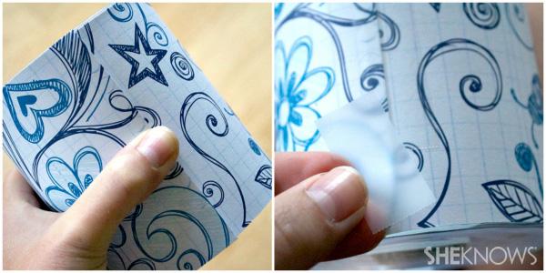 Step 1 Cut paper