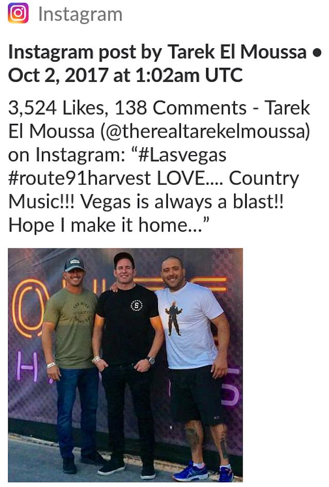 Tarek El Moussa Las Vegas Concert 2017