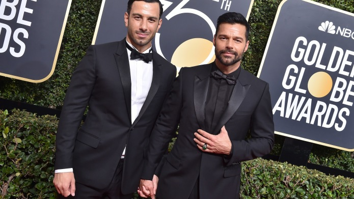 Ricky Martin Tells His Twins Why