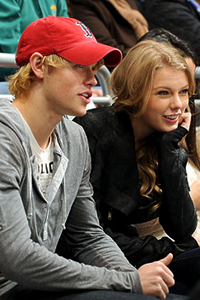 Taylor Swift and Chord Overstreet