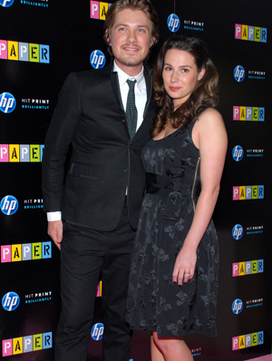 Taylor Hanson and Natalie