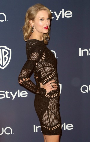 Taylor Swift and Jared Leto flirt at the Golden Globes