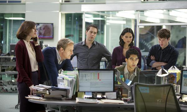 The Newsroom cast tells us their