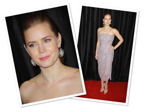 Up next: Get Amy Adams' pretty in pink makeup look