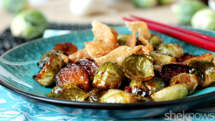 Teriyaki Brussels sprouts may convert even