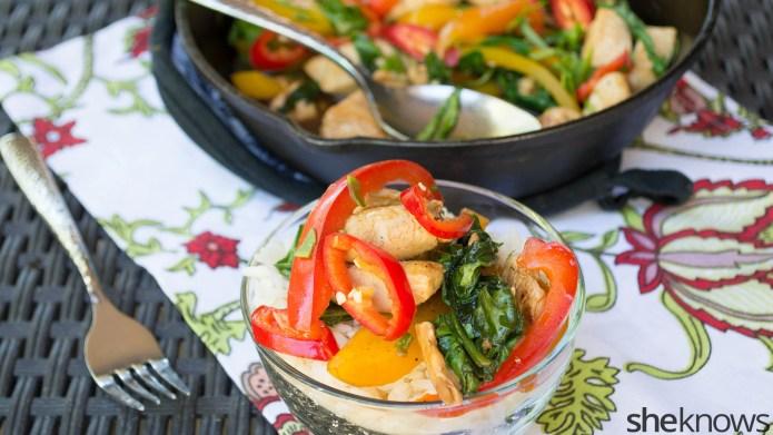 One-Pot Wonder: Thai basil chicken for