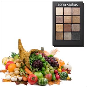 Colorful cornucopia & Sonia Kashuk