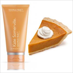 Pumpkin pie & Kate Somerville
