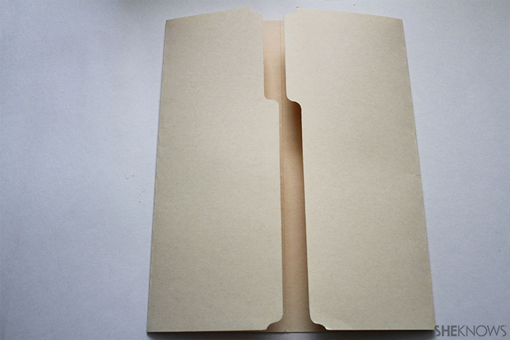 Fold lap book