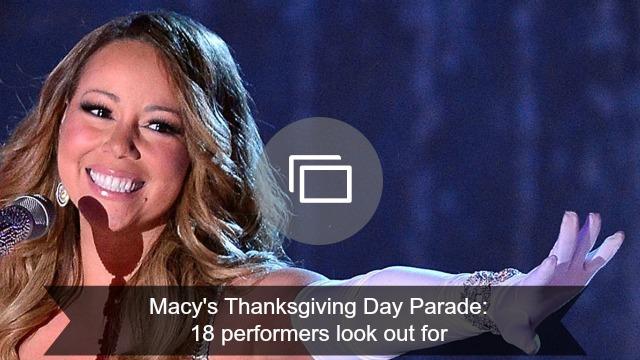 Thanksgiving parade slideshow