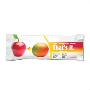 That's it. fruit bar