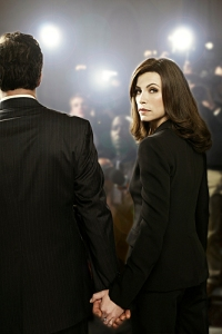 Will she stay The Good Wife?