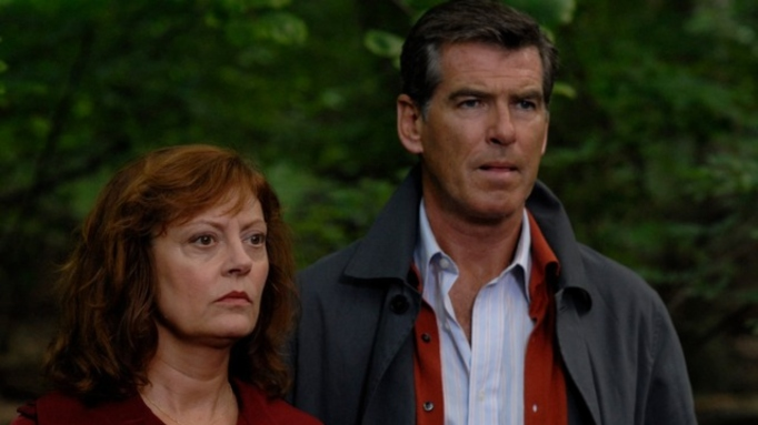 Susan Sarandon and Pierce Brosnan in 'The Greatest.'