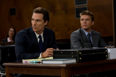 The Lincoln Lawyer stars Matthew McConaughey and Ryan Phillippe