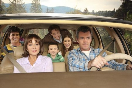 The cast of The Middle