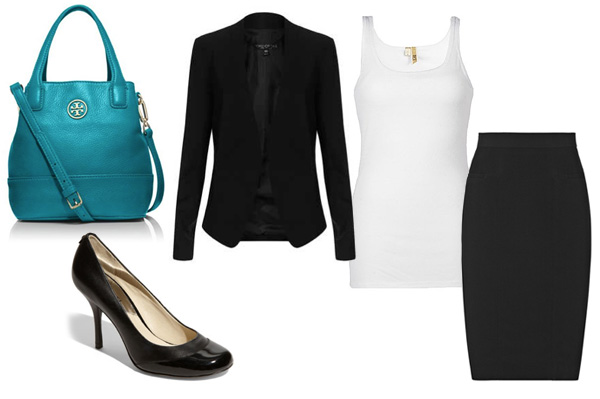 The perfect Tory Burch tote, styled three ways: For work