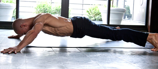 Ab exercises from Equinox