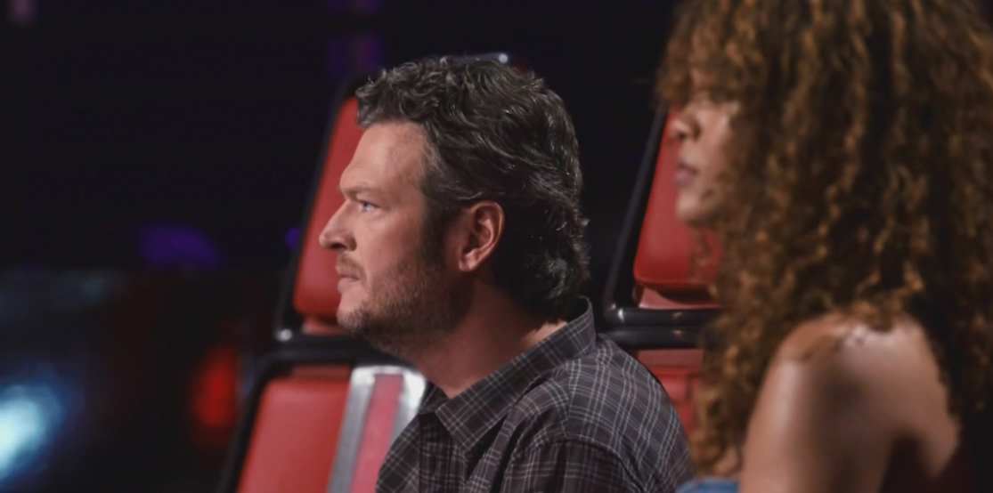 Blake and Rihanna