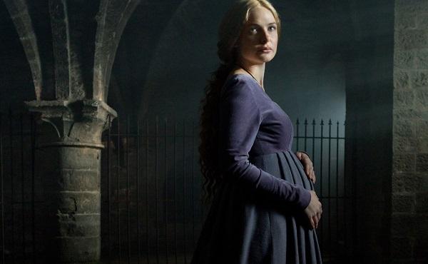 The White Queen -- Elizabeth pregnant
