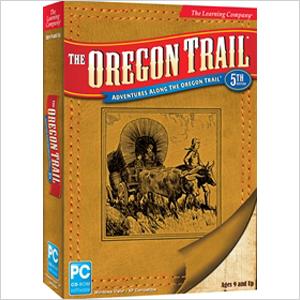 The Oregon Trail game
