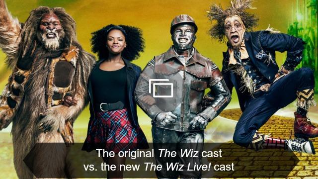 the wiz cast slideshow