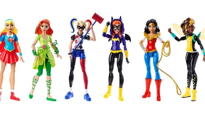 Target's new 'girlie' superhero line is