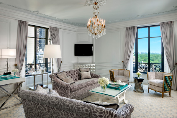 The Tiffany Suite at The St. Regis New York