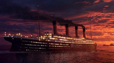 Titanic sets sail again in 2012