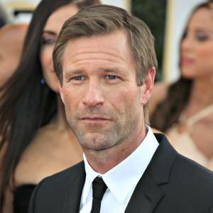 Aaron Eckhart faked having a dead