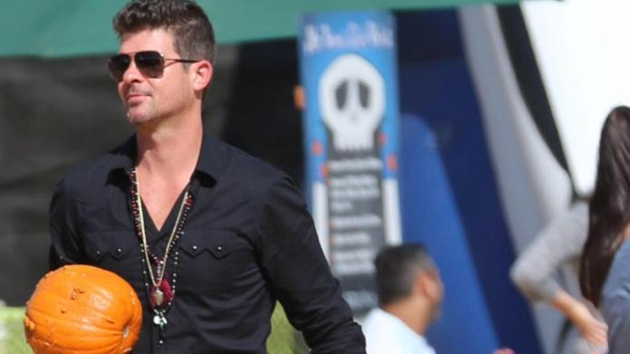 Newly single Robin Thicke is going