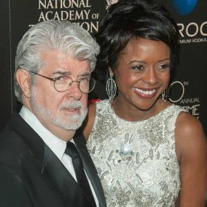 George Lucas and Mellody Hobson welcome