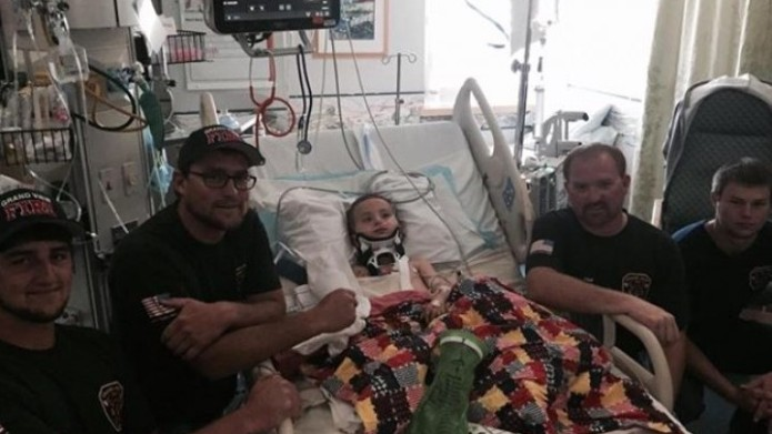 Toddler makes miraculous recovery from an