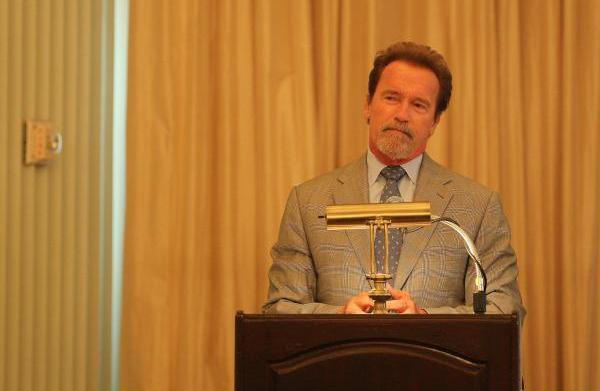 Arnold Schwarzenegger admits he spent time