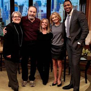 Homeland's Mandy Patinkin surprised with two