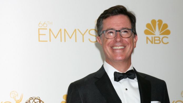 Stephen Colbert is grateful for the