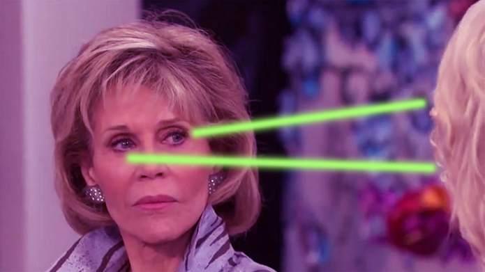 Jane Fonda Has No Time for