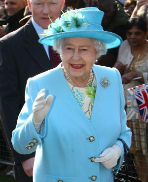 Clothing colours inspired by the Queen