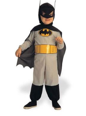 Batman Halloween costume for toddlers