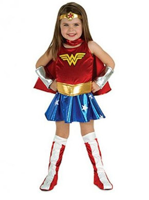 Wonder Woman Halloween costume for toddlers